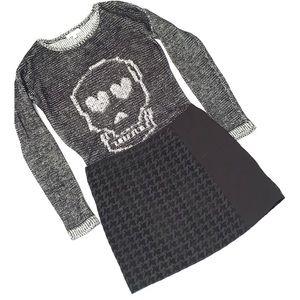 GB (Gianni Bini) skull sweater